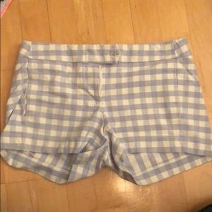 Jcrew gingham periwinkle shirts